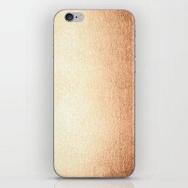 Simply Deep Bronze Amber iPhone Skin