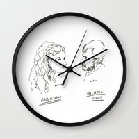 actor Wall Clocks featuring actor portrait by Hello Sunwoo
