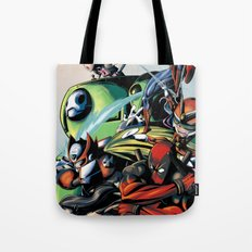CartoonMix Tote Bag