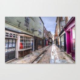 The Shambles Street York Canvas Print