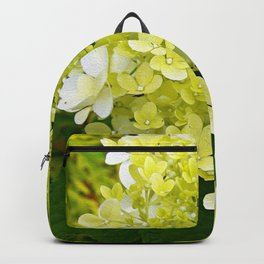 Elegant Chartreuse Green Limelight Hydrangea Macro Backpack