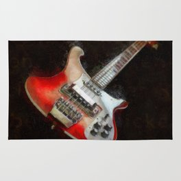 Rick and Famous - My 4003 Rickenbacker Basss Rug