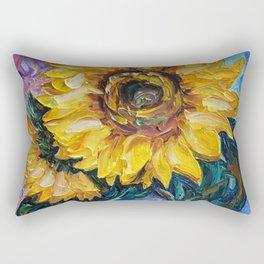 That Sunflower From The Sunflower State Rectangular Pillow