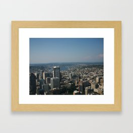 See you at the Top Framed Art Print