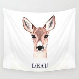 DEAU - roe deer Wall Tapestry