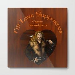 Love Supporter Metal Print