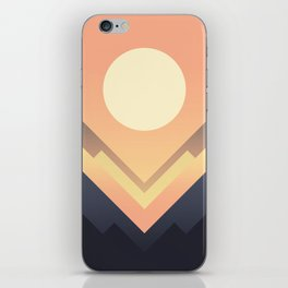 The Sun Rises iPhone Skin
