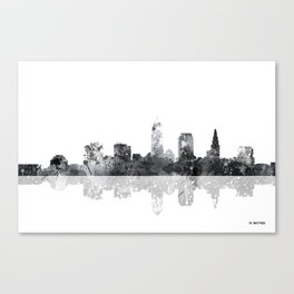 Cleveland, Ohio Skyline Canvas Print