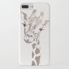 The Intellectual Giraffe iPhone 7 Plus Slim Case