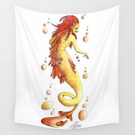 Mermaid 26 Wall Tapestry
