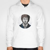 will graham Hoodies featuring Help Will Graham by Zuhair Mehrali
