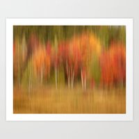 Autumn Memories Art Print