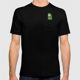 Pickle Rick Pocket! I'm Pickle Riiiiiiiick! T-shirt