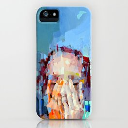 When silence happens in the marketplace iPhone Case
