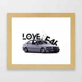 E46 COOL BIMMER Framed Art Print
