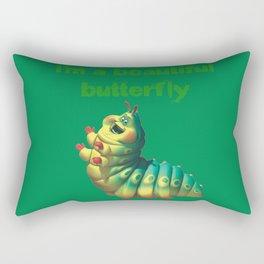 I'm a beautiful butterfly Rectangular Pillow