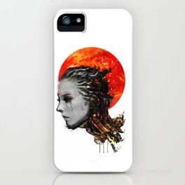 just a ghost in the shell iPhone Case