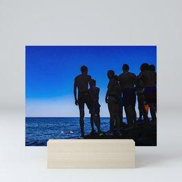 Bathers, Sicily Mini Art Print
