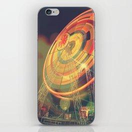 The Ferris Wheel II iPhone Skin
