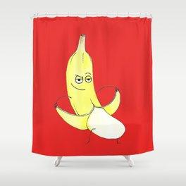 Inappropriate Banana Shower Curtain