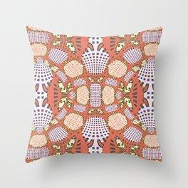 Congo Pointilist (7) Throw Pillow