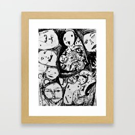 The Loss of a Mind Framed Art Print