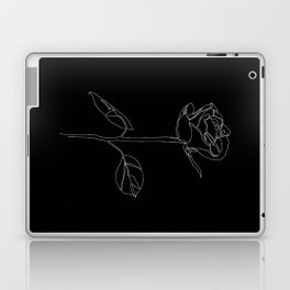 White Rose Laptop & iPad Skin