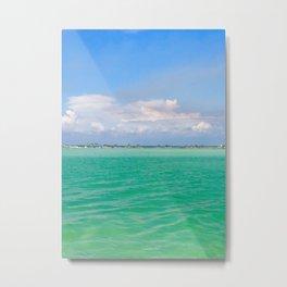 Tranquility: Caladesi Island, FL Metal Print
