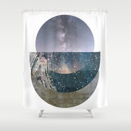Pieces of World Shower Curtain