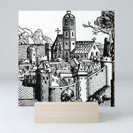 Schedelsche Weltchronik - Steyr Mini Art Print