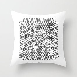 Square Points Throw Pillow
