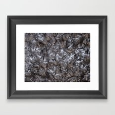 Artificial Nacre Framed Art Print