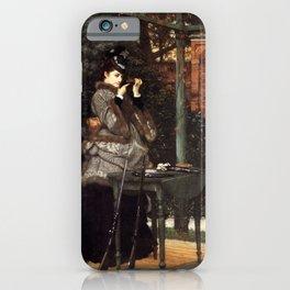 At the Rifle Range 1869 James Jacques Joseph Tissot iPhone Case