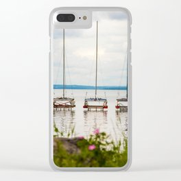 Ready! Set! Go! Clear iPhone Case