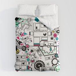 CUTE ROBOTS Comforters