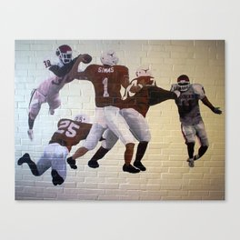 Roy Williams, Superman Canvas Print