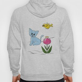Smiling Cat Hoody