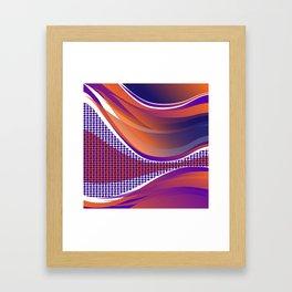 Curves 02 Framed Art Print
