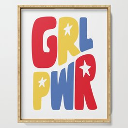 GRL PWR Star Serving Tray