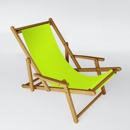 Bright green lime neon color Sling Chair