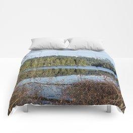 Morning Reflection on Fish Lake Comforters
