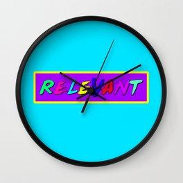 Relevant Wall Clock