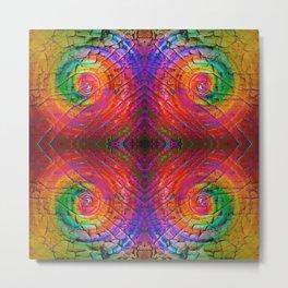 Mandala Kaleidoscope 526 Metal Print