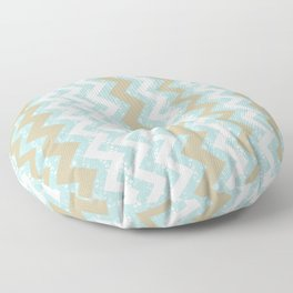 Chevrons and Dots Floor Pillow