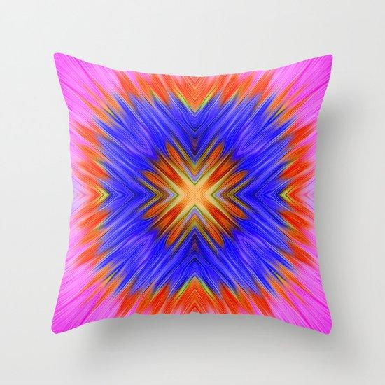 Fucsia Throw Pillow