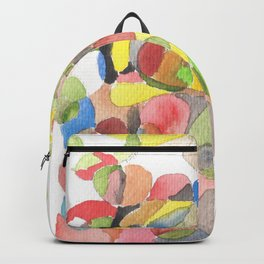Life and Meaning 3| Abstract Watercolors Backpack