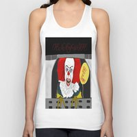 pennywise Tank Tops featuring Pennywise AKA The Clown by ItalianRicanArt