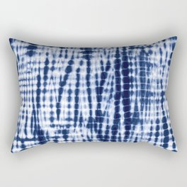 Shibori Tie Dye Pattern Rectangular Pillow