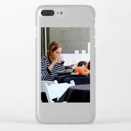 I'm Stuffed...SEND Clear iPhone Case