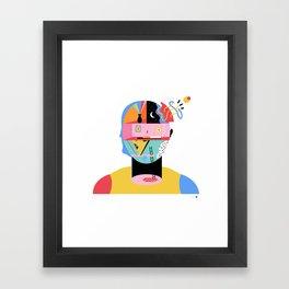 Psycho kill3r, qu'est que ce? Framed Art Print